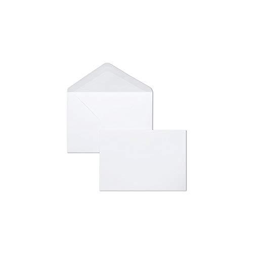 Clairefontaine 7701C–Lote de 20sobres compuesto de visita comprenant con forro 9x 14cm), color blanco