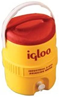 Igloo 385-765 400 Series Coolers, 10 gal, Red/Yellow