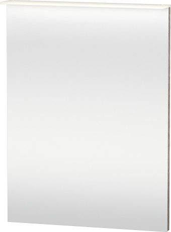 Duravit Happy D.2 spiegel met verlichting, 650 mm, Kleur: Europees eikenhouten decor - H2749305252