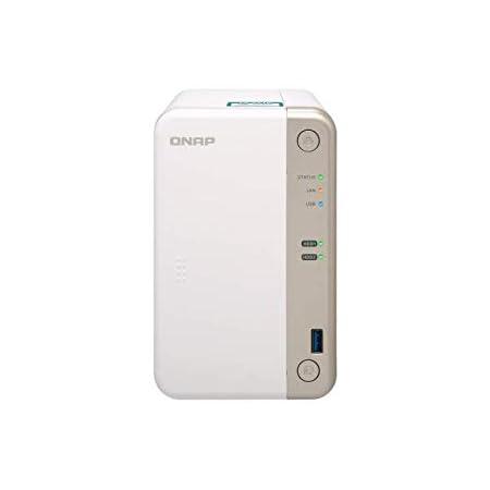 QNAP (キューナップ) 2ベイ 単体モデル 専用OS QTS搭載 デュアルコア2.0GHz メモリ 2GB TS-251B-2G 【国内正規代理店品】