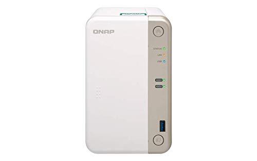 QNAP TS-251B-4G 2 Bay Desktop-NAS-Gehäuse mit 4 GB RAM