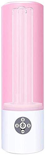 360 Desinfectie Uvsterilisator Ozonsterilisatie Luchtreiniger C Lamp Ozon 55W Voor Thuis Luchtreiniger Cleaner Ontsmettingsmiddel Bacteriën Microben En Virussen 11,7 35 Cm *,Pink