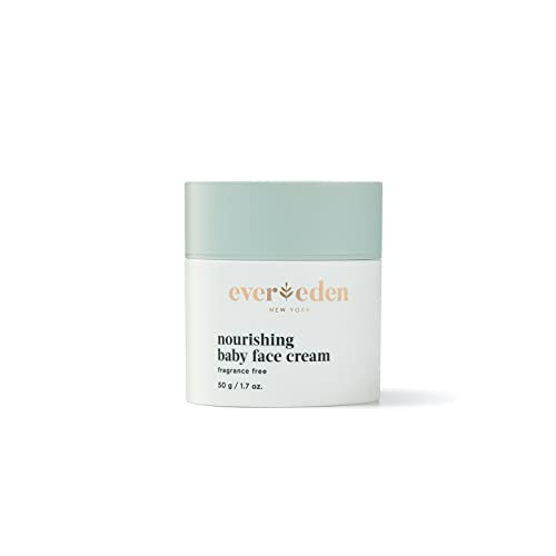 Evereden Nourishing Baby Face Cream 1.7 oz | Clean and Natural Baby Care | Non-toxic and Fragrance Free | Plant-based and Organic Ingredients