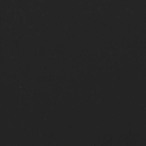 Folie Dekor für Spoiler Flap Wing Stoßstange Front Splitter Selbstklebend Passgenau Kfz Auto Zubehör (Schwarz Matt, Facelift (D049))