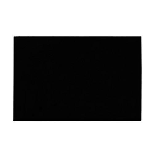 3Ply Construction E-Gitarre Blank Schlagbrett Brett Scratch Platte PVC DIY Customed Gitarren-Teile Weiß für Gitarren Holzblasinstrument Zubehör Saxophone ( Color : Black )