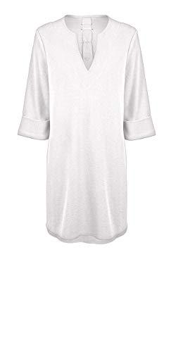 Watercult W3318 DES Caftan - Cubierta para mujer 123 Blanco suave (777). S