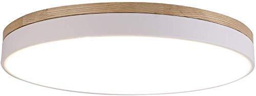 Plafón de LED rectangular regulable Minimalismo moderno lámpara de techo de estilo...