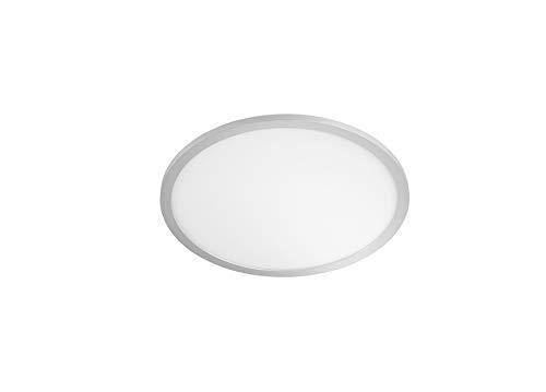 WOFI Deckenleuchte Linox 1flg, Silberfarbig