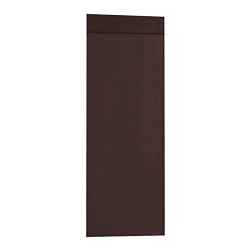 Dasntered, tende oscuranti per porte, tende oscuranti termiche, isolanti oscuranti, per la casa e la casa, tende con adesivo (marrone, dimensioni: 1 pezzo)