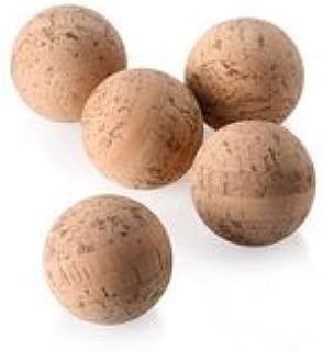 WIDGETCO 1-1//4 Cork Balls Agglomerated