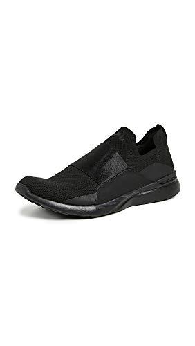 APL: Athletic Propulsion Labs Men's Techloom Bliss Running Sneakers, Black/Black, 9.5 Medium US