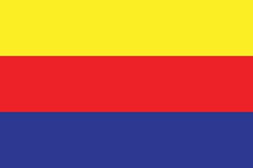 magFlags Flagge: Large Cazire Canton   Jazira Canton of Rojava Syrian Kurdistan Kurdish Kantona Cizîrê   Querformat Fahne   1.35m²   90x150cm » Fahne 100% Made in Germany