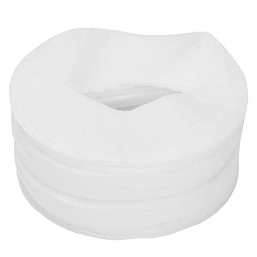 Papier Jetable pour Masque pour les Yeux en Coton, Tampon Faical pour Femme, Accessoire de Beauté Doux et Doux pour de Beaux Yeux