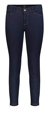 MAC JEANS Damen DREAM CHIC Jeans, Blau (Dark Rinsewash D801), 44W / 27L