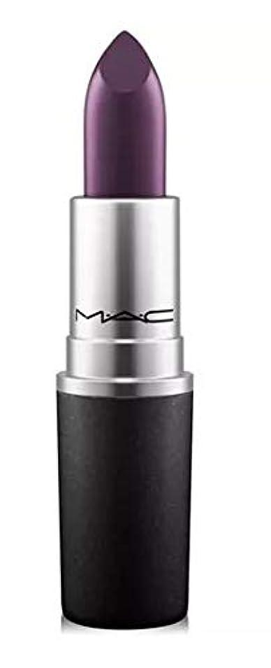 大胆な上に築きます血統マック MAC Lipstick - Plums Cyber - intense blackish-purple (Satin) リップスティック [並行輸入品]