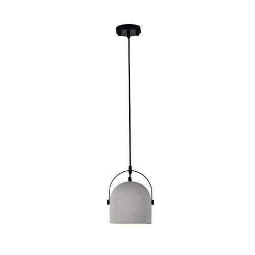 JYDQM Lámpara de araña Minimalista Moderna nórdica, lámpara Colgante de diseño Creativo de Cemento, luz de Techo de hormigón de una Sola Cabeza for Restaurante
