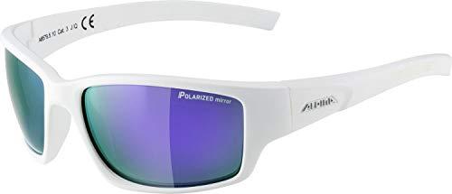 ALPINA KEEKOR P Sportbrille, Unisex– Erwachsene, white matt, one size