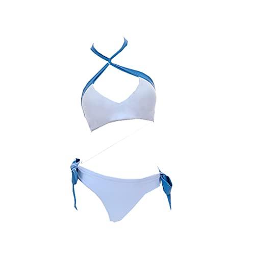 ZHYUHECOS Fate Grand Order FGO Arturia Pendragon Swimsuit Bikini Hoodie Jacket Cosplay Costume (Women-Large) White