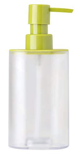 VIGAR rengo doseur de Savon ABS, Couleur : Vert Dimensions : 8 x 7,5 x 17 cm