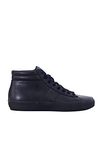Ralph Lauren Polo Uomo Scarpa Sneaker Casual Tempo Libero Art. 816710022001 43 EU - 10D USA - 9 UK Nero Black
