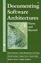 Documenting Software Architectures: Views and Beyond Hardcover – October 6, 2002