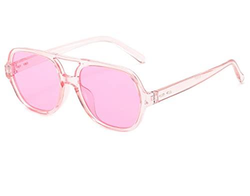 ODNJEMSD Sunglasses Big Face Sunglasses Lady Outdoor Beach Round-Framed Glasses