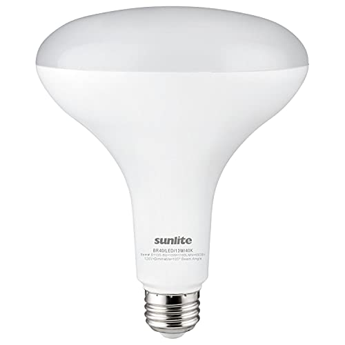 Sunlite 81135 LED BR40 Recessed Light Bulb, 14...