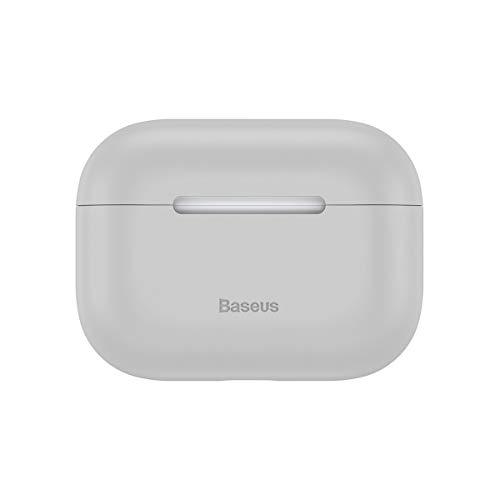Clique para visualizar Capa Case Airpod Pro Porta Fone Silicone Baseus Original Cinza