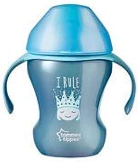 Tommee Tippee Trinkbecher f/ür Jungen ab 7 Monaten Blau