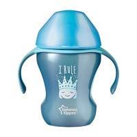 Active Sippee Tasse à partir de Tommee Tippee sans BPA Age 7m + (I Rule/bleu)