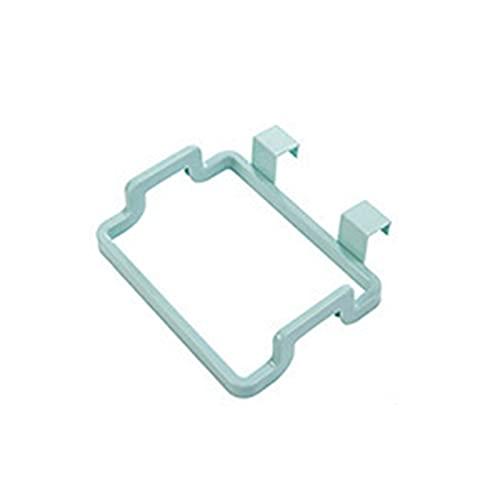 Bingdong - Supporto per cestino da cucina, per appendere alla porta, porta del cestino, porta posteriore, cestello portaoggetti in plastica