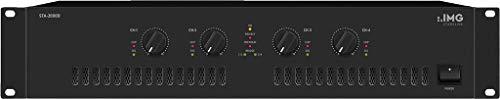 IMG STAGELINE STA-2000D 4-Kanal PA-Digital-Verstärker schwarz