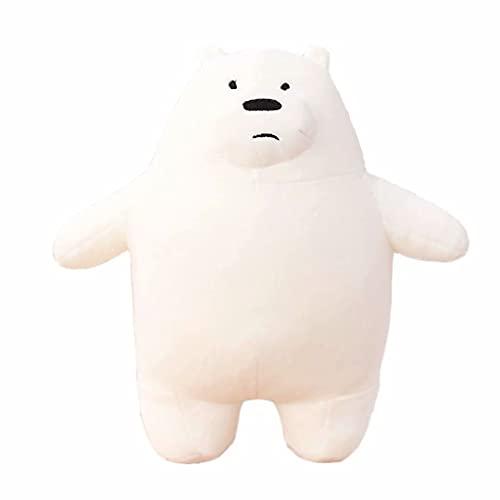 Bambole di peluche animali Kawaii We Bare Bears Peluche Cartone animato Orso farcito Grizzle Orso bianco grigio Orso di ghiaccio Bambola panda Amore Bambola regalo di compleanno