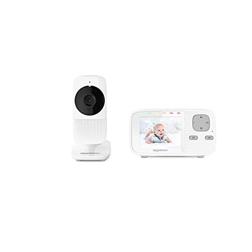 Amazon Basics - Baby Monitor con schermo a colori e comunicazione bidirezionale