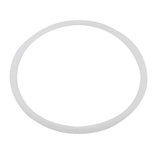 26cm Interior Dia de Silicona Transparente de presión Olla de presión de...