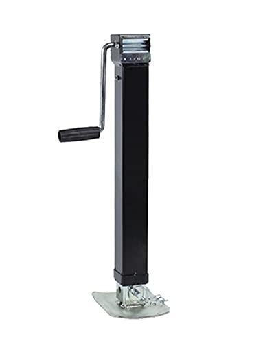 WFBD-CN Coche Jack Stand Barco Marino Soldadura Cuadrada en Tubo Trailer Giratorio Jack Cargar 8000 Lbs 3632kgs, 640-1360mm Piezas y Accesorios de Remolque