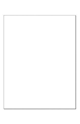 270 GSM Cougar blanc 8-1//2-x-11 cartonné Super Lisse papier 200-pk