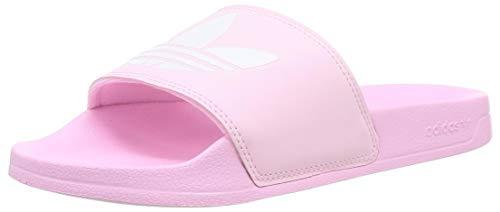 adidas Damen Adilette Lite Slide Sandal, True Pink/Cloud White/True Pink, 40.5 EU