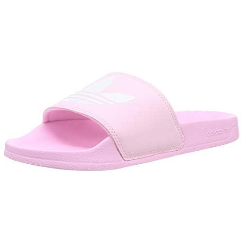 adidas Adilette Lite W, Scarpe da Ginnastica Donna, True Pink/Ftwr White/True Pink, 38 EU