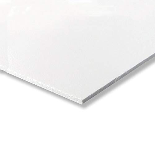 Placa de PVC expandido de 3 mm, color blanco, 200 x 1500 mm, gran elección
