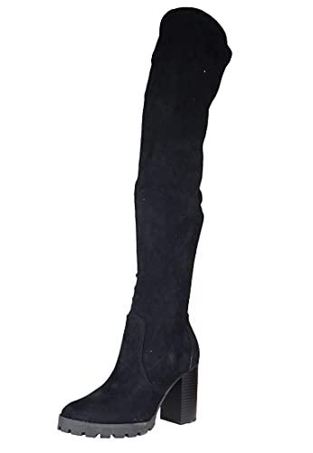 Buffalo Madyson, Botte tendance Femme, Black, 38 EU