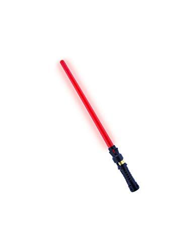 DISBACANAL Espada láser galáctico - Rojo, -