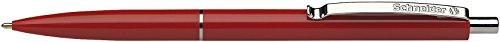 Schneider K 15 Druckkugelschreiber (dokumentenechte Mine - Strichstärke M) Schreibfarbe: rot