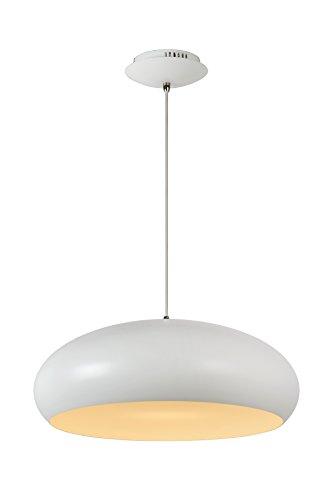 Lucide DANA-LED - Suspension - Ø 48 cm - LED Dim. - 1x12W 3000K - Blanc