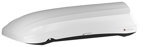 INNO BRM466WH PHANTOM 466 Cargo Box - 18 Cubic FT Holds 8-10 Skis or 4-8 Snowboards (Gloss White)
