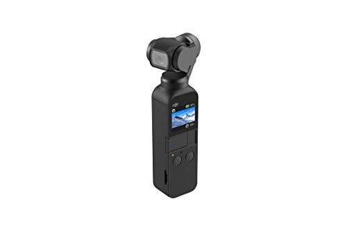 DJI Osmo Pocket Handheld 3-Axis 4k Gimbal Stabilizer with Integrated Camera
