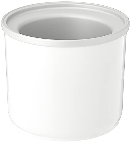 Cuisinart ICE-45RFB 1-1/2-Quart Ice Cream Maker Freezer Bowl - For use with the Cuisinart ICE-45 Mix It In Soft Serve Ice Cream Maker , White