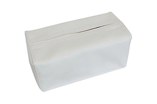 TEES FACTORY 国産 PVC レザー ティッシュ ケース JECY_H ホワイト