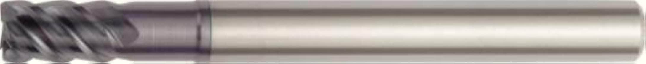 WIDIA Hanita 75N520047LT Vision Plus 75N5 HP Hard Material End Mill, 2 mm Rad, 20 mm Cutting Dia, Carbide, TiAlN, RH Cut, Straight Shank, 4-Flute
