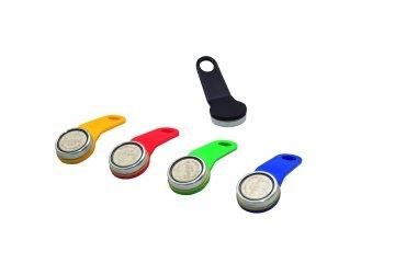 Kellnerchip, Kellnerschlüssel, Magnetchip-Schlüssel, Farbe: schwarz